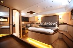 """Sleep in style on board """"Raven"""" 2012 Oyster 82"""