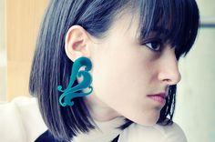 Earrings by Keymandesign on Etsy