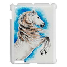 Shop for horse art from the world's greatest living artists. All horse artwork ships within 48 hours and includes a money-back guarantee. Choose your favorite horse designs and purchase them as wall art, home decor, phone cases, tote bags, and more! Horse Rearing, Andalusian Horse, Horse Artwork, Horse Paintings, Cute Ipad Cases, Blue Sky Background, Unicorn Art, White Horses, Equine Art