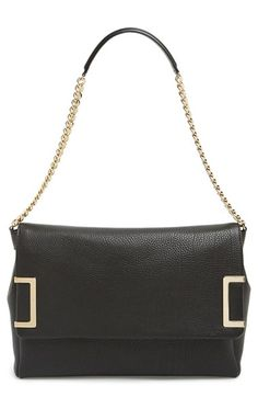 Jimmy Choo  Ally  Leather Shoulder Bag available at  Nordstrom Jimmy Choo  Shoes f4bebb29f4e26