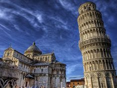 The Leaning Tower of Pisa was definitely fun to see! Pisa, Italy