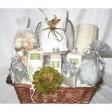 Serenity Spa Gift Basket with a FREE Extra Gift and a FREE Personalized Greeting Card (Health and Beauty)By Just Gifts