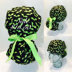 Updates from AvaGreysDesigns on Etsy. Halloween HatsScrub ... 836e949a4a81