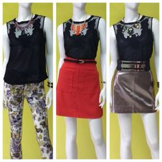 Usando la misma blusa con 3 bottoms diferentes - ideas para maximizar tu guardarropa #doit #atrévete #ootd #instafashion