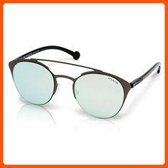 Mulco Leaf Cat C021 Black Frame / White Lens 48 mm Cat Eye Sunglasses - Sunglasses (*Amazon Partner-Link)