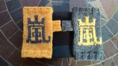 Arashi Knitted Fingerless MittsNino Yellow Made by ShiawaseShoten