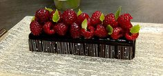 Raspberry Chocolate Mousse Bar by Pastry Chef Antonio Bachour (St. Regis Bal Harbour Resort)
