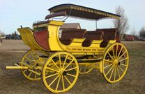 Concord Stage Coaches and Mudwagons for Sale | Hansen Wheel and Wagon Shop