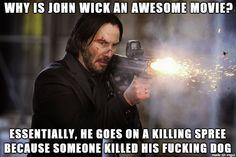 He isn't the boogeyman. He is who you send to kill the f*cking boogeyman...