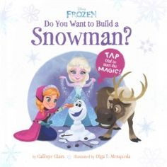 JJ FAVORITE CHARACTERS FROZEN. With a simple shake or tap, the readers help Anna and Elsa put Olaf together again! In this truly hands-on interactive picture book, the readers play a part in the storytelling. Through instructional text, children learn numbers and directions such as up, down, left, right, clockwise, and counterclockwise. Toddlers will enjoy the feeling of creating the story and the element of magic and wonder.