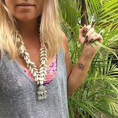 Bohemian Cowrie Shell Necklace ♥️ www.indieandharper.com