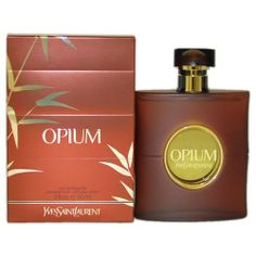 OPIUM For Women By YVES SAINT LAURENT Eau de Toilette Spray 3 oz - Eau de Parfum