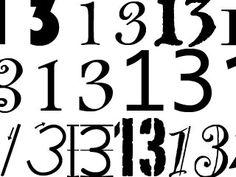 13, 13, 13
