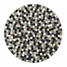 Dottie 02 - grey:-  The new Dottie Collection of rugs are handmade using the highest quality 100% pure new wool.  PriceForm £75.00