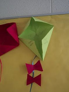 Multiplication Kites- Hands on activity of how to multiply.