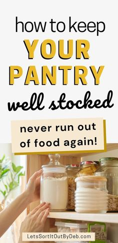 Pantry List, Pantry Staples List, Food Staples, Pantry Inventory, How To Make Gravy, Survival Prepping, Survival Food, Kitchen Pantry, Kitchen Hacks
