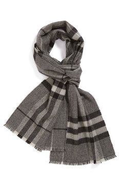 Burberry+Houndstooth+Check+Scarf+available+at+#Nordstrom