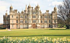Family treasures: Burghley Hall  Lettice sent her sons Robert and Walter Devereux to live at Burghley house to complete their education.