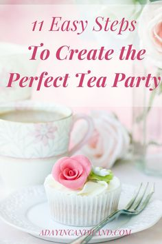 11 Easy steps to host a Tea party. Includes everything you need to make your afternoon tea a success. How to create and host your friends to an afternoon tea. #afternoontea #teaparty #candilandblogs #tea