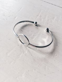 Open Circle Cuff from Black Sheep Jewelry. Boho/minimalist jewelry. Minimalist bracelet cuffs.