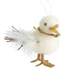 Fuzzy Duck Ornament