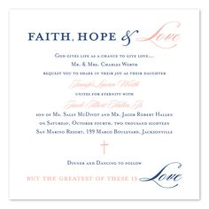 Christian wedding invitation wording samples wordings and messages graceful type wedding invitations by invitation consultants ic rlp 1384 filmwisefo