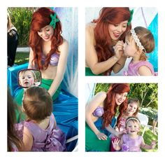Project Nursery - Ariel painting the Birthday Girls face