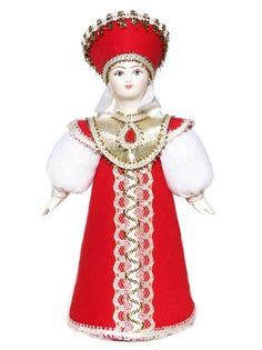 "GreatRussianGifts.com - Russian Porcelain Costume Doll ""Queen"" Small, $19.95 (http://www.greatrussiangifts.com/russian-porcelain-costume-doll-queen-small/)"