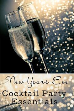 New years eve cocktail party essentials | eBay Party Party, House Party, Party Time, Party Ideas, New Year's Eve Cocktails, Diy Ideas, Decor Ideas, New Year's Crafts, New Year Celebration