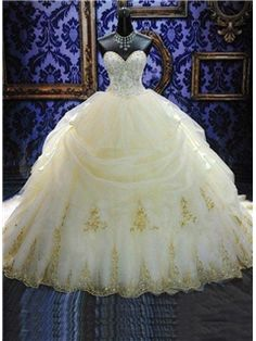ericdress.com offers high quality Ball Gown Sweetheart Appliques Cathedral Wedding Dress Wedding Dresses unit price of $ 251.99.