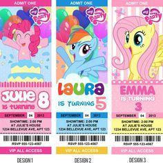My little pony Birthday Invitations / Birthday Party card - Digital Printable File -- Movie Party idea My Little Pony Birthday Party, 5th Birthday Party Ideas, Frozen Birthday Party, Birthday Stuff, 4th Birthday, My Little Pony Equestria, Hasbro My Little Pony, Equestria Girls, My Little Pony Invitations