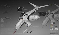PLANETSIDE 2 Pre-Viz: SF-1B MOSQUITO by `ukitakumuki on deviantART