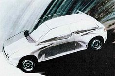 OG |1983 Volkswagen / VW Golf Mk2 | Design sketch