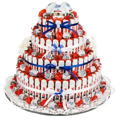 Nutella Gifts, Diy Birthday, Birthday Gifts, Elegant Birthday Cakes, Candy Cakes, Sweet Box, Diy Cake, Secret Santa, Creative Crafts