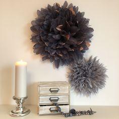 Boudoir, Sweet Home, Lady, Feather, Wreaths, Halloween, Decoration, Design, Home Decor