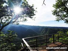 """Bosque """"El Imposible"""", El Salvador, Central America -   """"The Impossible"""" (forest)"""