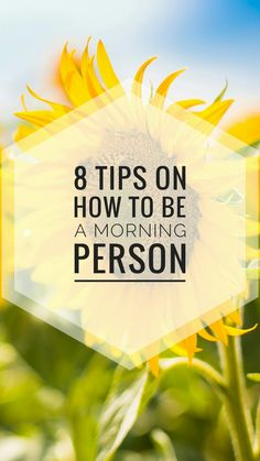 It's hard to become a morning person but these tips really helped me to better at it. Read it now and pin it for later!