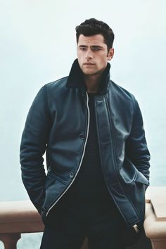 Photographed by Francesco Carrozzini, Sean O'Pry visits the Amalfi coast of Italy for Cerruti 1881's fall-winter 2015 campaign.