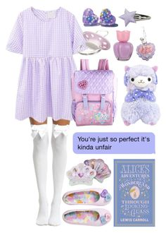 """""""i can't decide if i wanna stay in or go to the park"""" by little-care-bear-gurl ❤ liked on Polyvore featuring Hot Topic, Giorgio Armani, Forever 21 and Disney"""