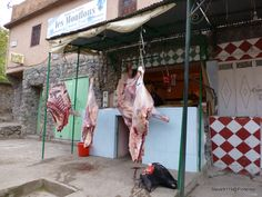 The butcher shop @ Imlil, Morocco