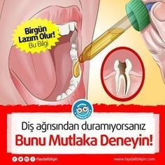 Diş ağrısından duramıyorsanız bunu mutlaka deneyin Faydalı Bilgin If you can't stop toothache, try it. Healthy Drinks, Healthy Tips, Tooth Pain, Tooth Ache, Der Bus, Natural Health Remedies, Fashion Moda, New Tricks, Alternative Medicine