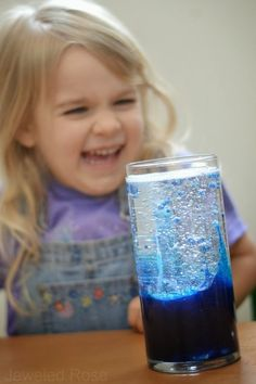 Make a lava lamp and WOW the kids! Super simple fun!