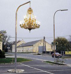 Street Lights by Werner Reiterer