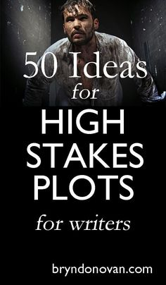 to Write a Novel: 50 IHigh Stakes Plot Ideas!How to Write a Novel: 50 IHigh Stakes Plot Ideas! Book Writing Tips, Writing Process, Writing Quotes, Fiction Writing, Writing Resources, Writing Help, Writing Skills, Writing Ideas, Writing A Novel
