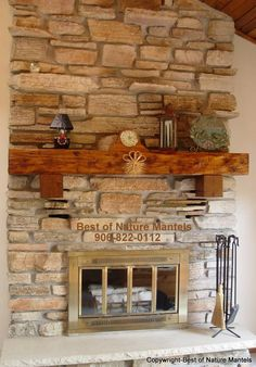 Wonderful Modern Minimalist Fireplace Mantel Ideas Brick Style Combined With Wooden Shelving In Small Design