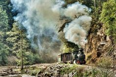 .#Mocanita is a forest narrow gauge train pulled by a steam locomotive. Find more about these wonderful and very old  trains that are used today mainly for tourism in #Romania : http://impressivemagazine.com/2013/09/26/mocanita-the-romanian-forest-steam-train/