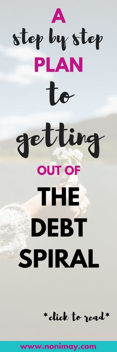 A step by step plan to getting out of the debt spiral. If you owe money, it is possible to move from the red to the black. Here are some tips that may prove useful. Paying Off Student Loans, Student Loan Debt, School Loans, Cash Envelope System, Paying Off Credit Cards, How To Get, How To Plan, Debt Payoff, Money Matters