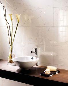 Paredes cerámicas para el cuarto de baño