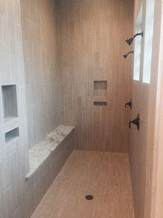Giant walk-in shower