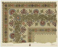 Floral print, Várdai Constantin - 1911?